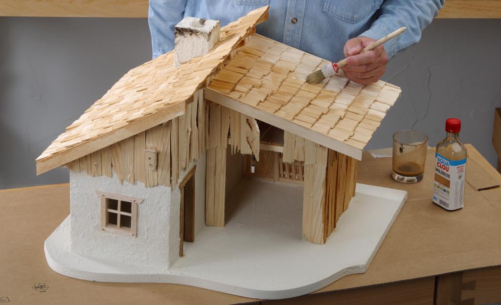 Holz Esstisch Design Murmelbahn