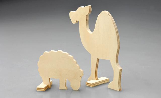 Schaf und Kamel basteln