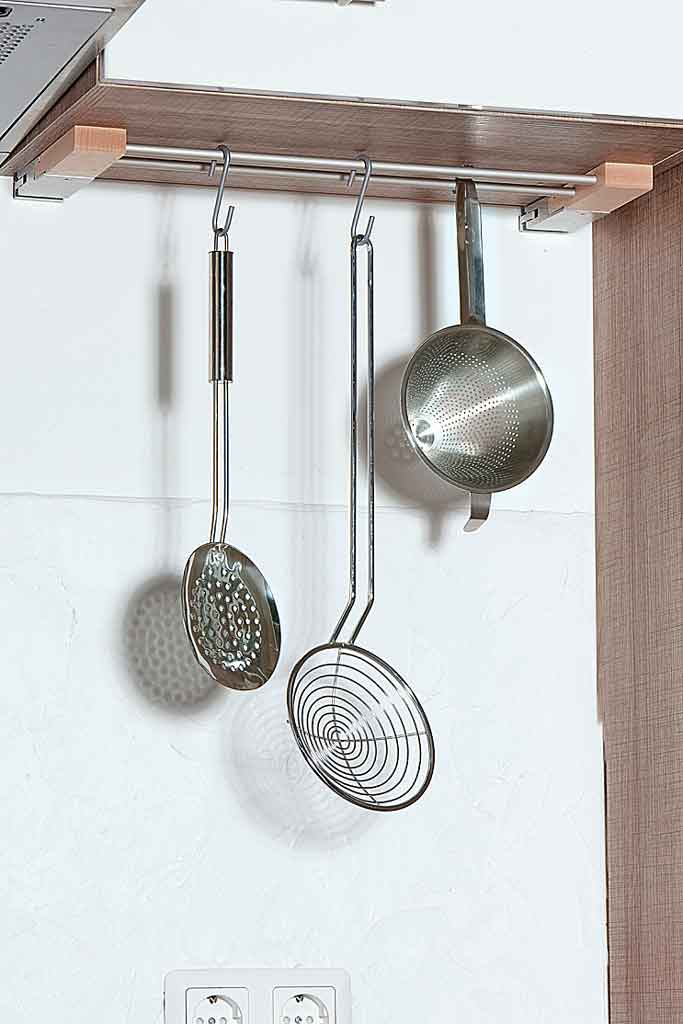 Küchenreling zum Klemmen