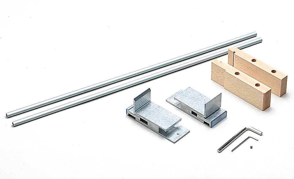 k chenreling zum klemmen k che bad. Black Bedroom Furniture Sets. Home Design Ideas