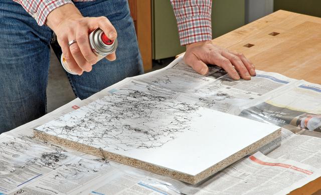 anleitung spr hlackieren lernen lackieren streichen bild 6. Black Bedroom Furniture Sets. Home Design Ideas