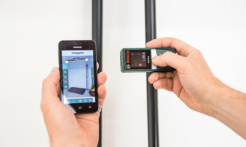 Bosch Entfernungsmesser Plr 30 C : Laser entfernungsmesser selbst