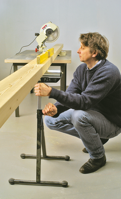 Rahmenkonstruktion bauen