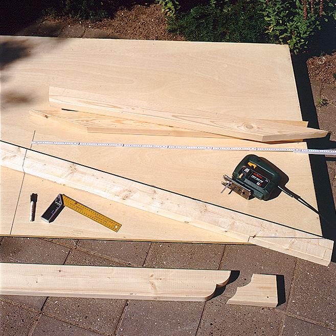 Dachgiebel bauen