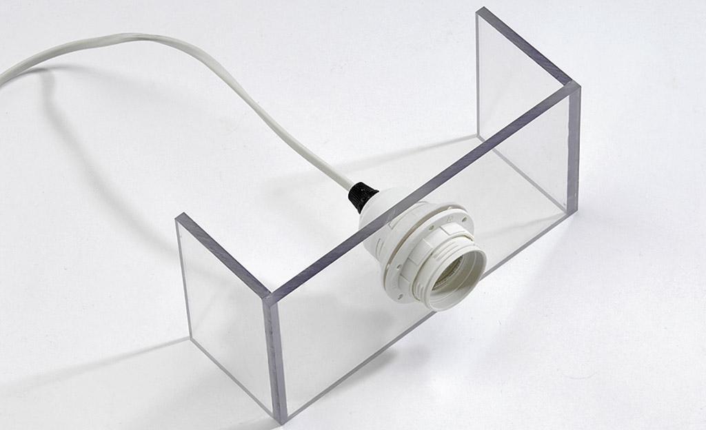 Bekannt Plexiglas beleuchtet | selbst.de ET17
