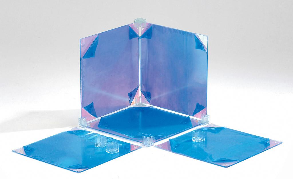Lichtwürfel aus Plexiglas bauen