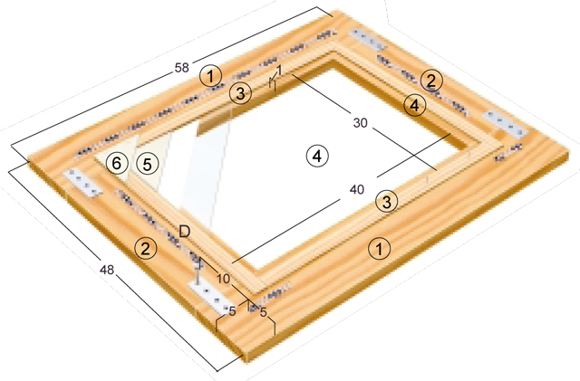 maritime bilderrahmen bauen dekorieren bild 9. Black Bedroom Furniture Sets. Home Design Ideas