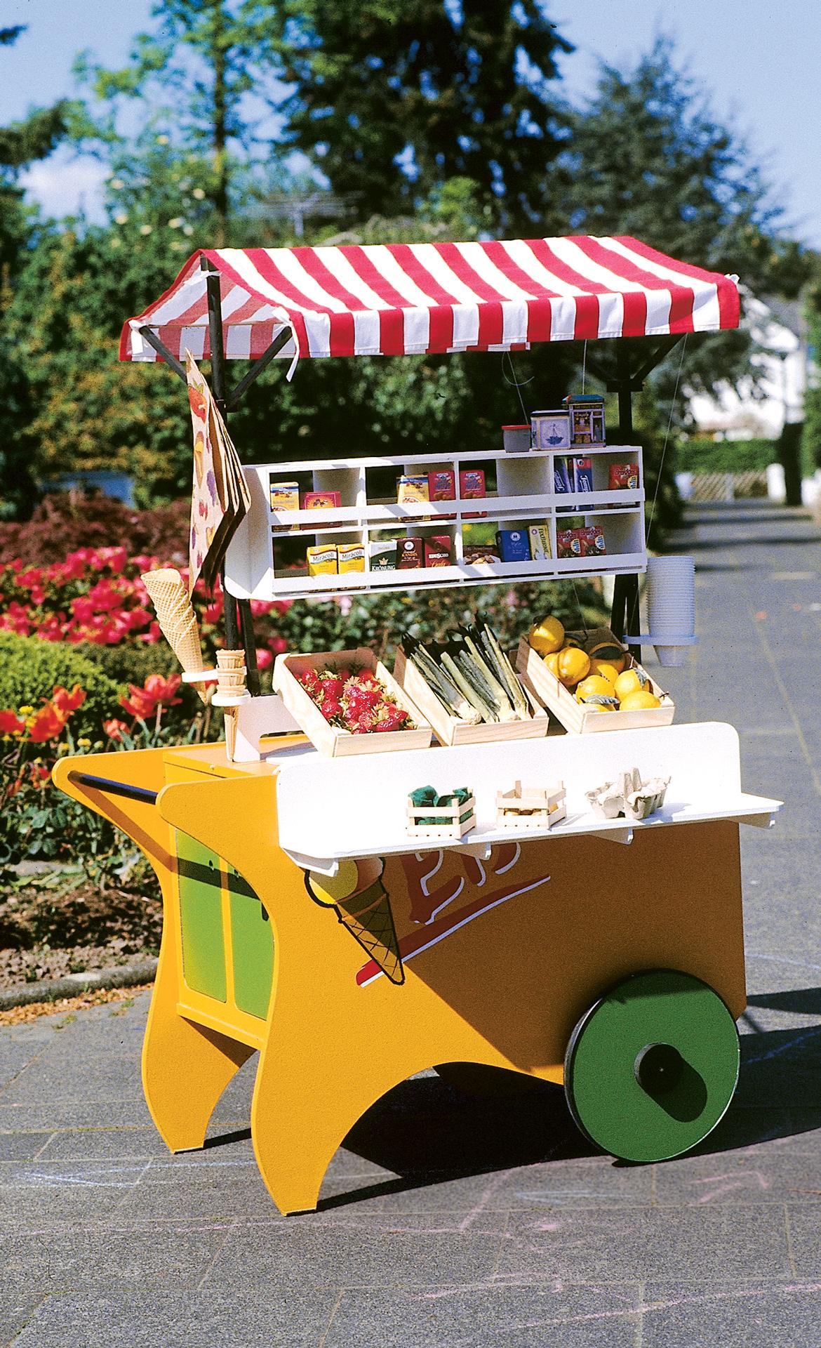 marktstand selber bauen | spielzeug & spielgeräte | selbst.de, Garten und bauen