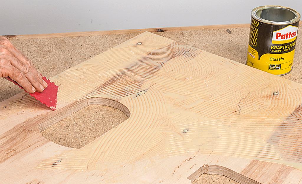 Bauplan werkzeugtisch werkstatt bild 10 for Bauallzweckplatte