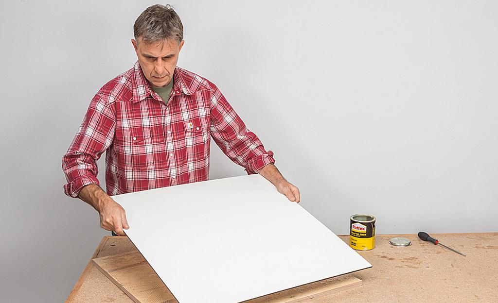 Bauplan werkzeugtisch werkstatt bild 5 for Bauallzweckplatte