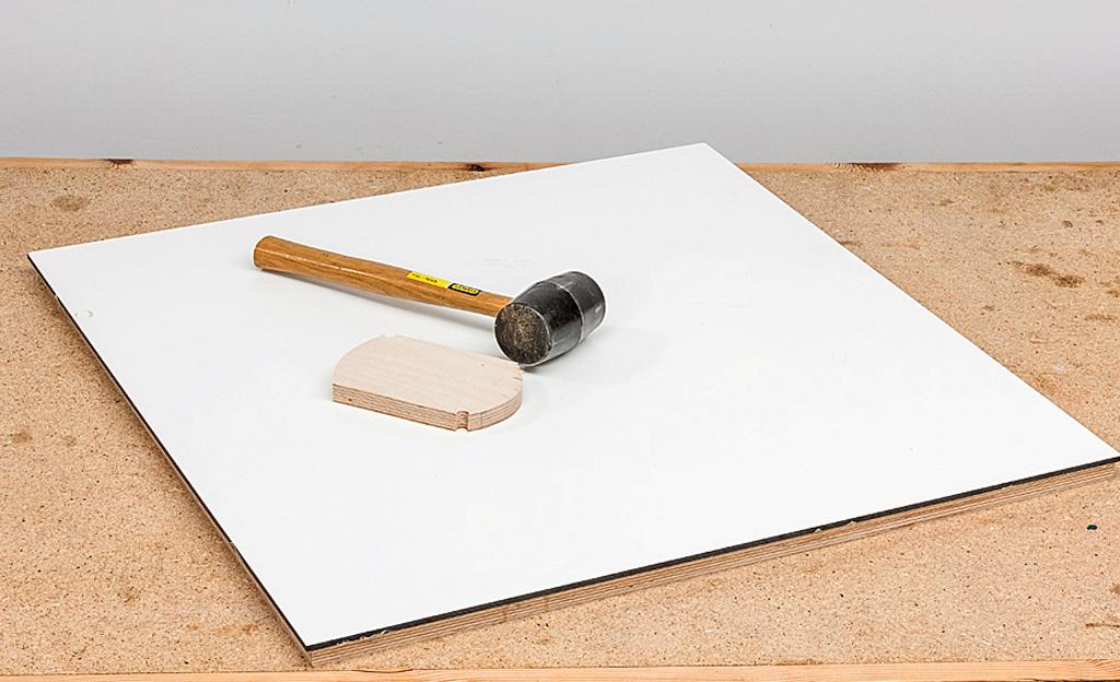 Bauplan werkzeugtisch werkstatt bild 8 for Bauallzweckplatte