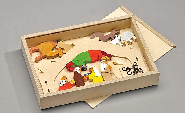 bauplan moderne krippe holzspielzeug krippen. Black Bedroom Furniture Sets. Home Design Ideas