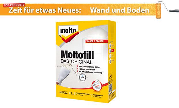 Für beste Ergebnisse: Moltofill – Das Original