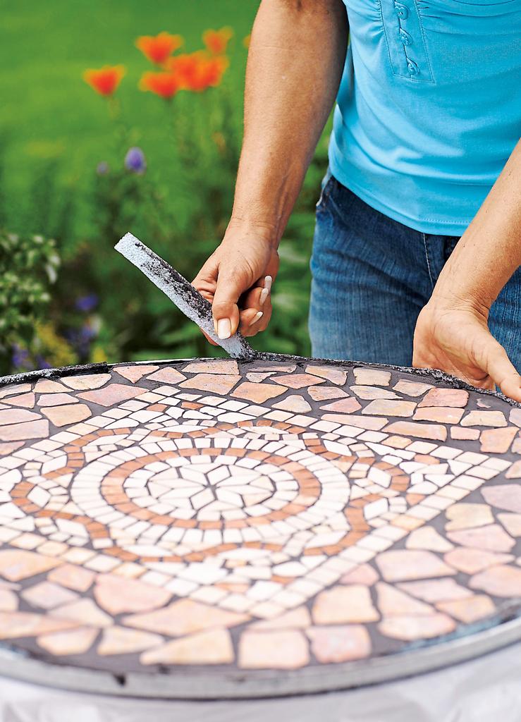 Mosaiktisch Selber Machen Selbstde