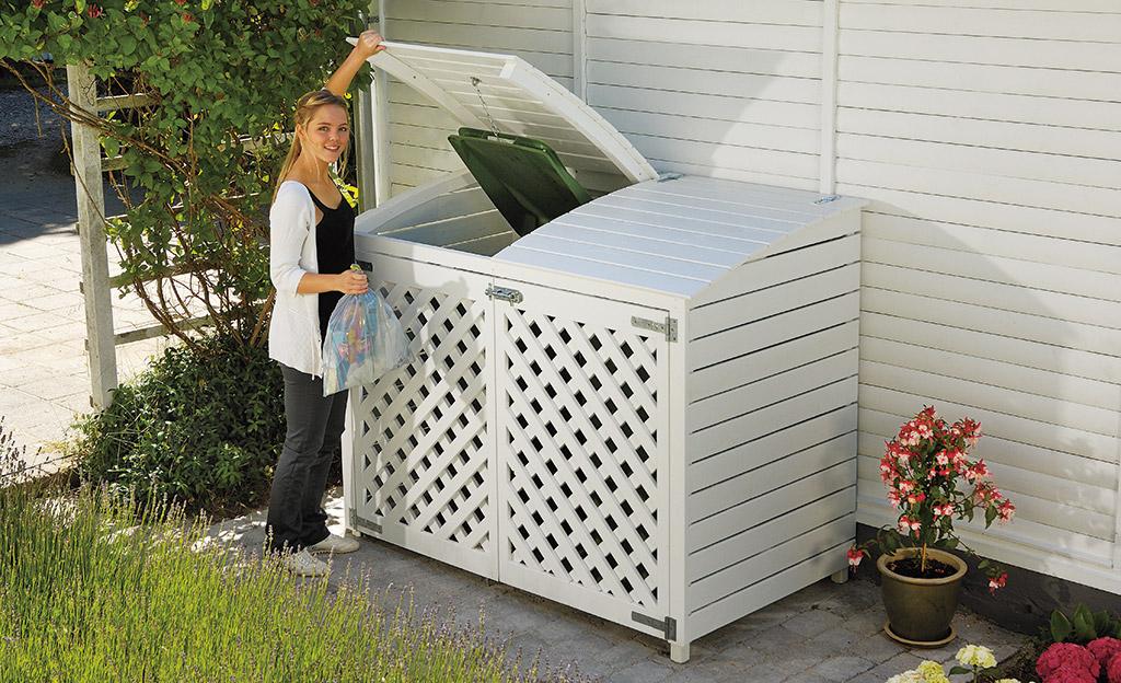 Bevorzugt Mülltonnenbox   selbst.de RN19