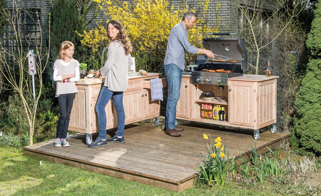 Outdoor Küche Auf Rädern : Bauplan outdoorküche selbst