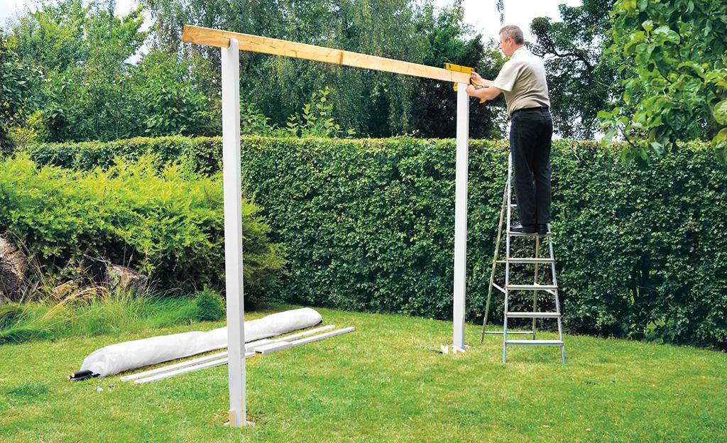 Pavillon selber bauen | selbst.de