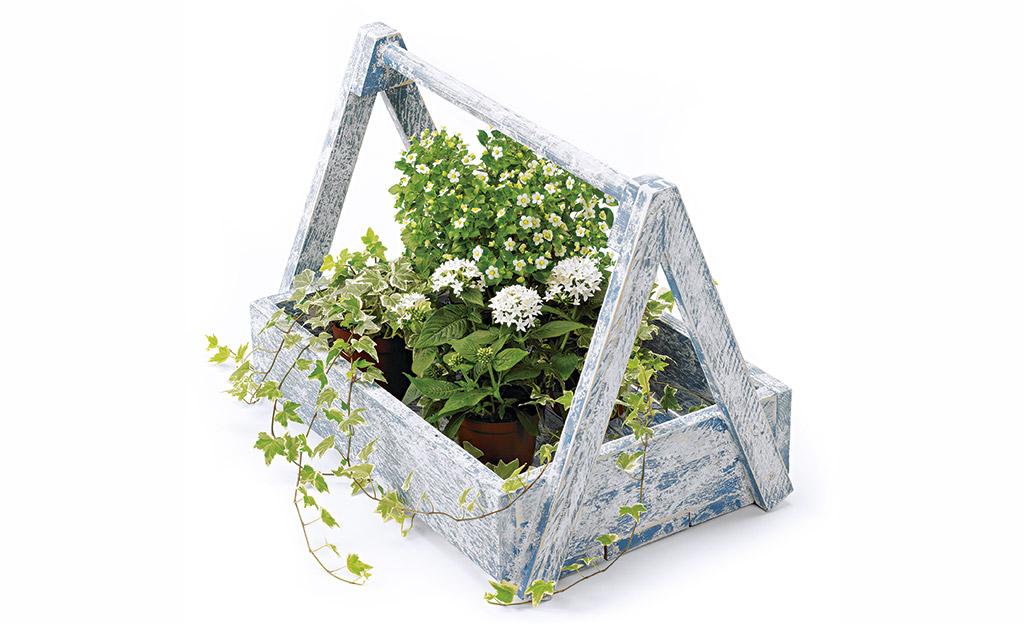 Pflanzentrage bauen