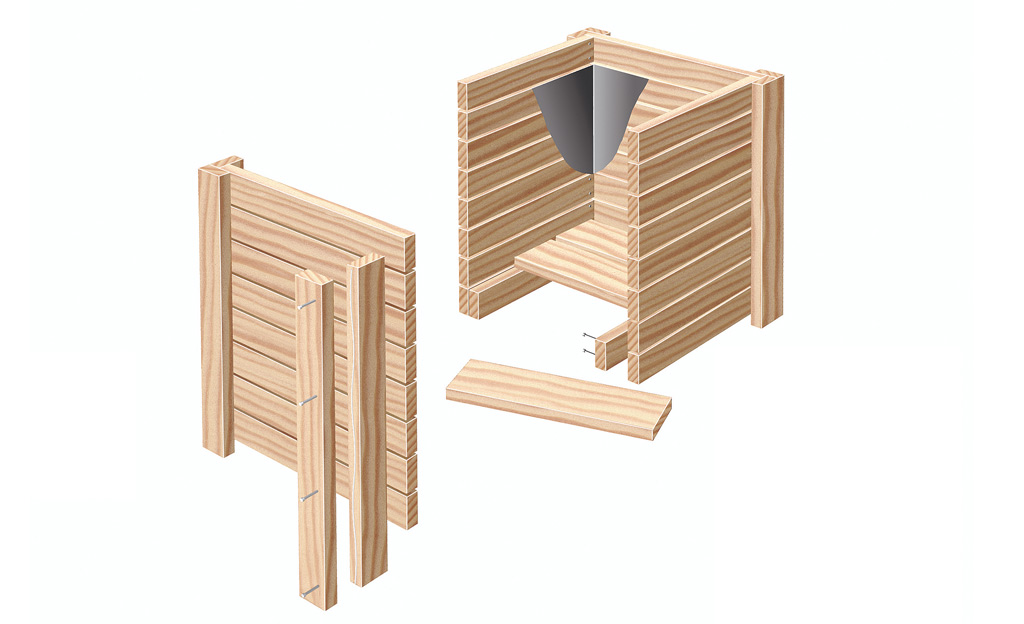 Holz Pflanzkübel Selbstde