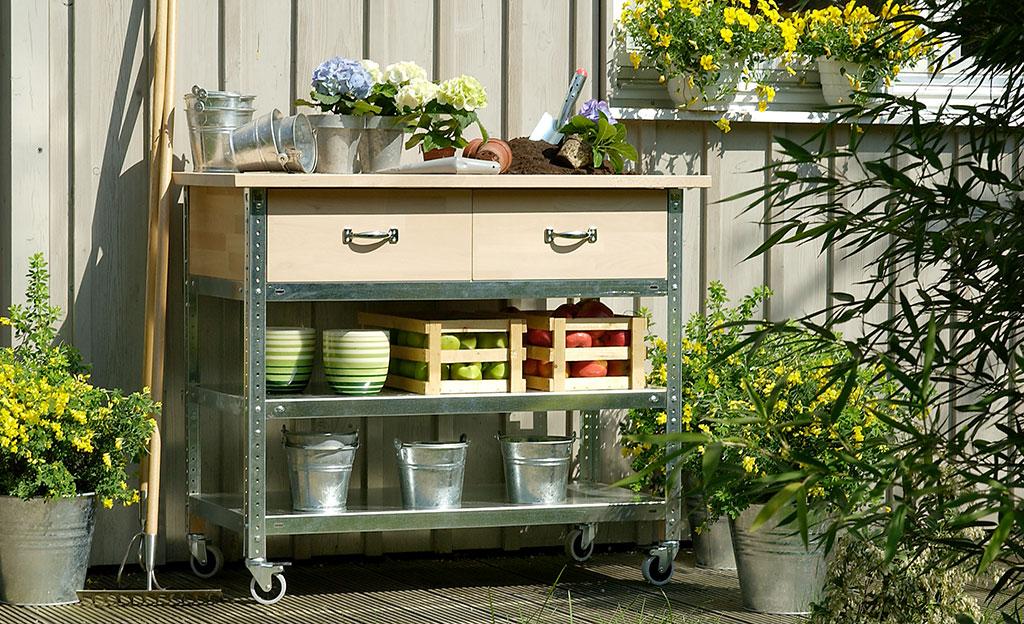 Gartenmöbel selber bauen | selbst.de