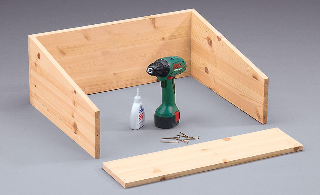pflanztisch selber bauen holzarbeiten m bel bild 14. Black Bedroom Furniture Sets. Home Design Ideas
