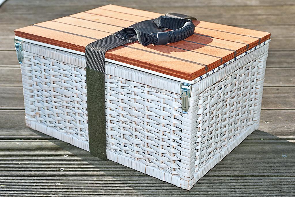Picknickkorb bauen