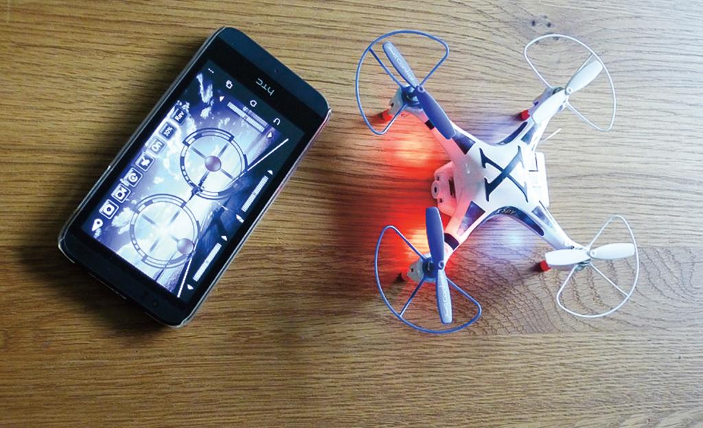 Outdoorküche Bausatz Quad : Quadrocopter von revell selbst