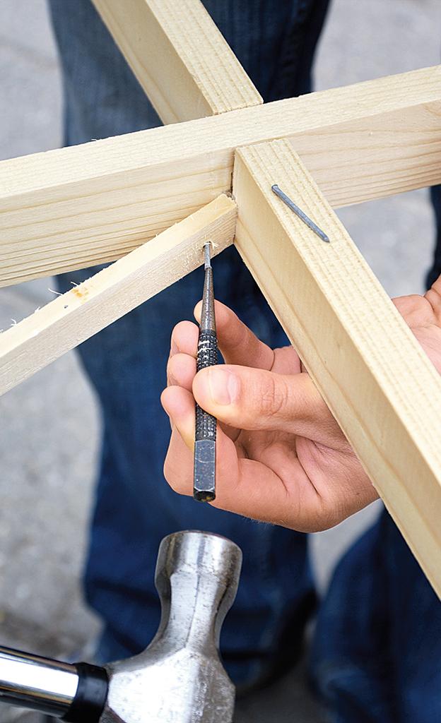 Rankhilfe bauen