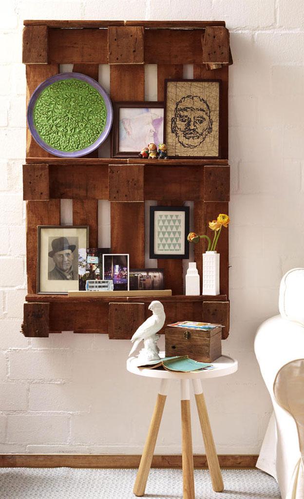 paletten wandregal. Black Bedroom Furniture Sets. Home Design Ideas