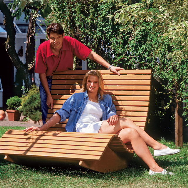 saunaliege aus holz. Black Bedroom Furniture Sets. Home Design Ideas