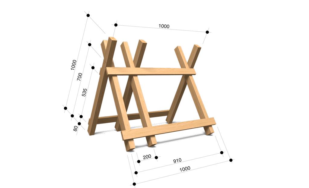 Fabelhaft Sägebock bauen | selbst.de &NS_57
