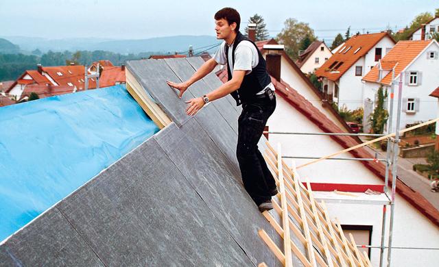 baustoffe f r hohen schallschutz im dach schallschutz. Black Bedroom Furniture Sets. Home Design Ideas