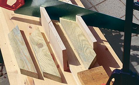 Schritt 6: Rahmenhölzer schneiden