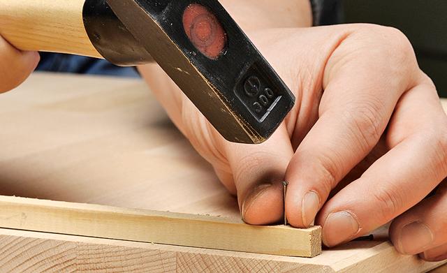 nagelprobe Hammer