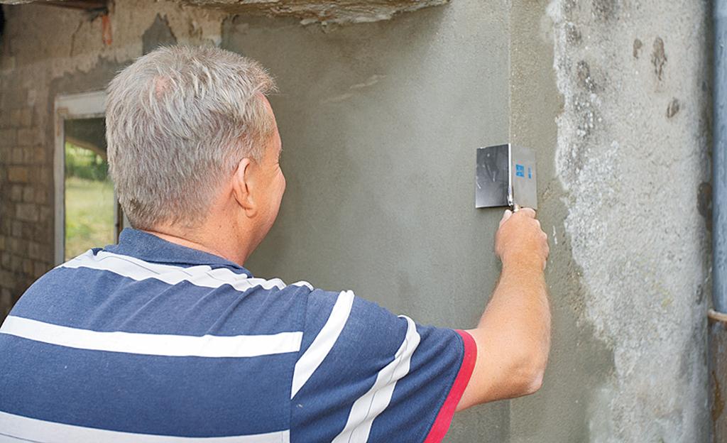 Putz Fassade Ausbessern Fassade Ausbessern Und Streichen Tipps