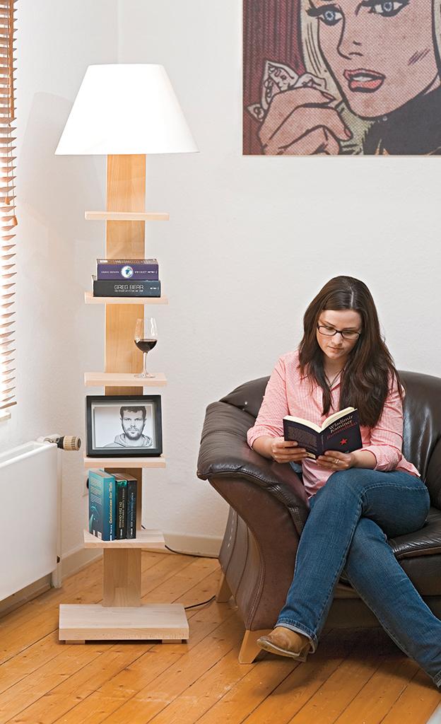 leselampe bauen. Black Bedroom Furniture Sets. Home Design Ideas