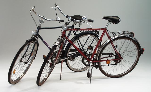 gebrauchte Fahrräder vom Sperrmüll