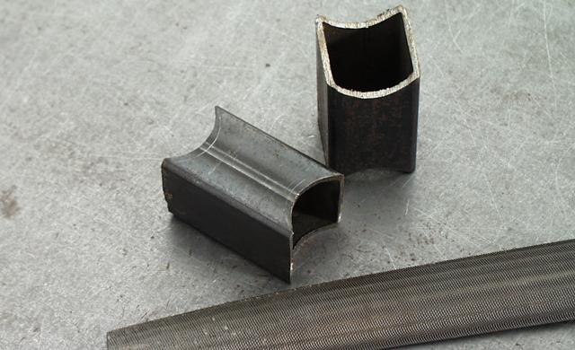 Stahlrohr ablängen