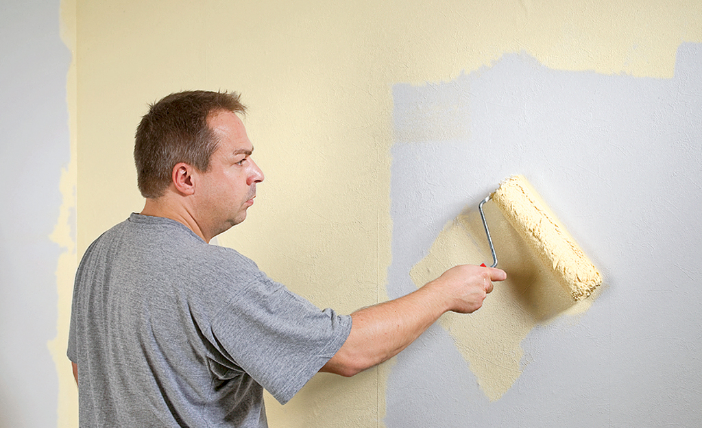 putz tapete oder streichen h user immobilien bau. Black Bedroom Furniture Sets. Home Design Ideas