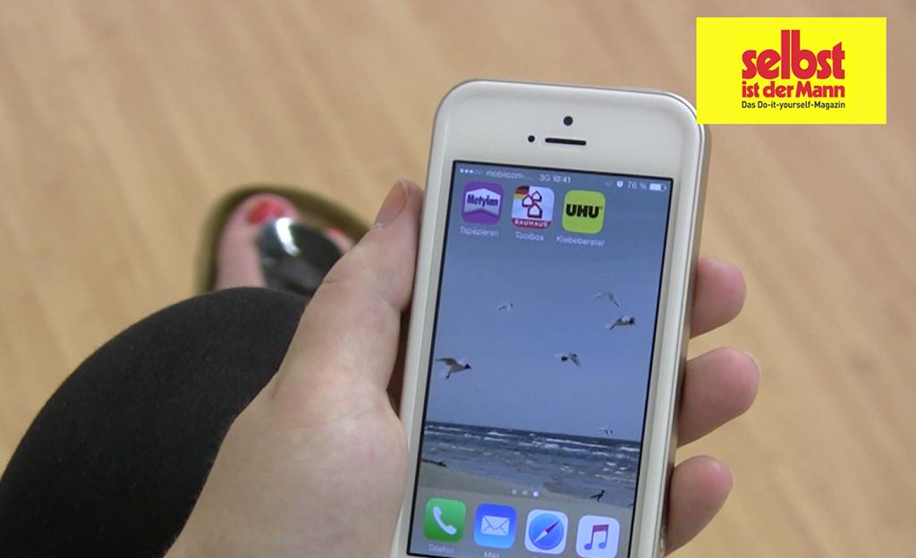 Entfernungsmesser Iphone App : Heimwerker apps selbst