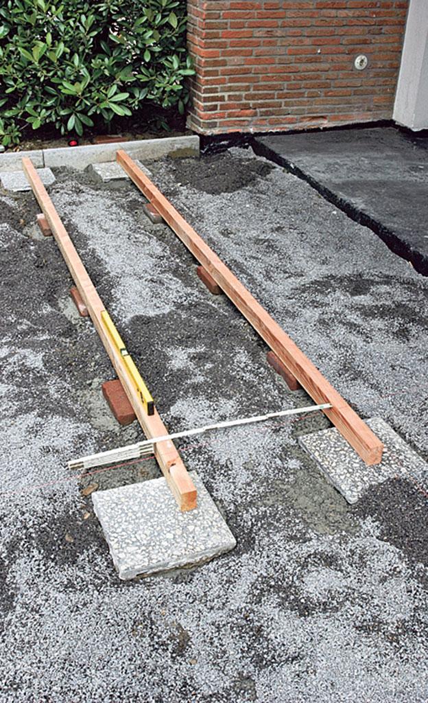Terrassen len verlegen Holzterrasse Bild 9