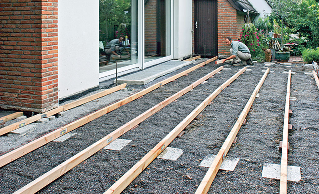 Außergewöhnlich Terrassendielen verlegen | selbst.de #AF_38