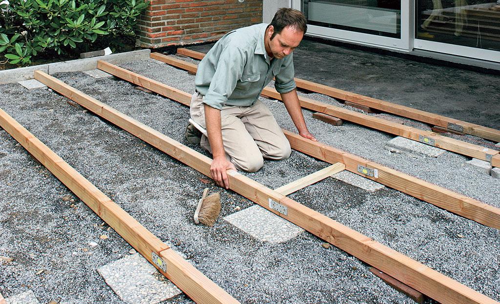 Beliebt Bevorzugt Terrassendielen verlegen | selbst.de @XC_55