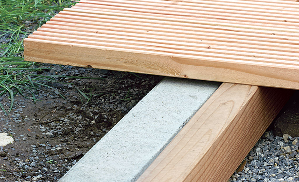 Terrassen len verlegen Holzterrasse Bild 4