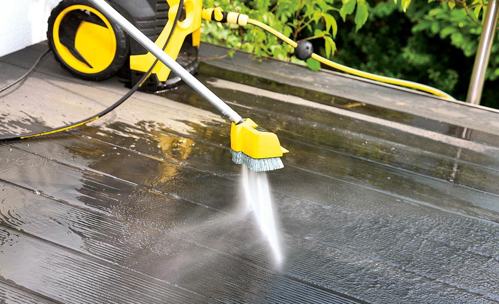 selbst ausprobiert: Terrassen-Reiniger
