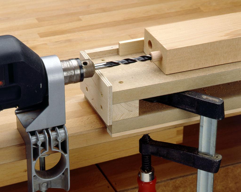 Dübelspitzen bauen: Schritt 2 von 3