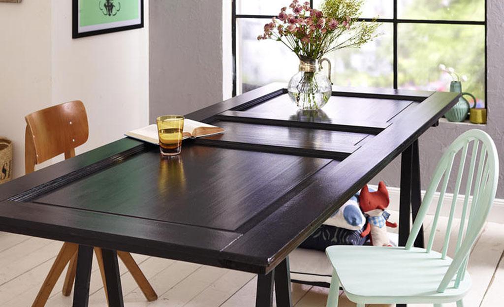 t r als tischplatte. Black Bedroom Furniture Sets. Home Design Ideas