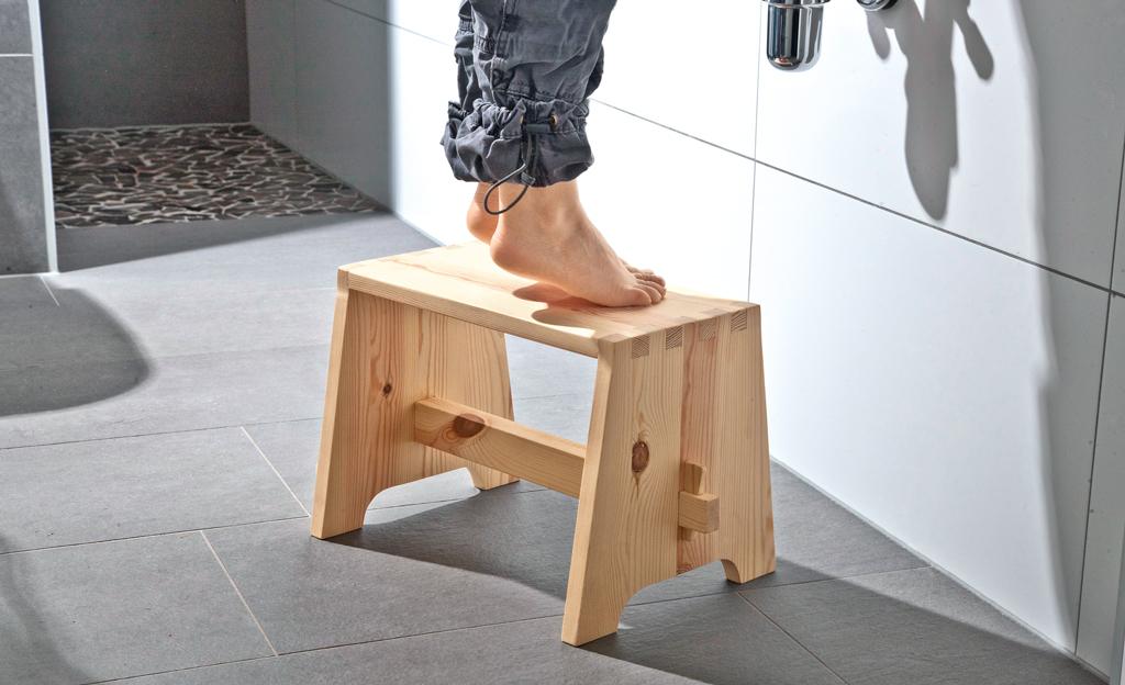 tritthocker bauen. Black Bedroom Furniture Sets. Home Design Ideas