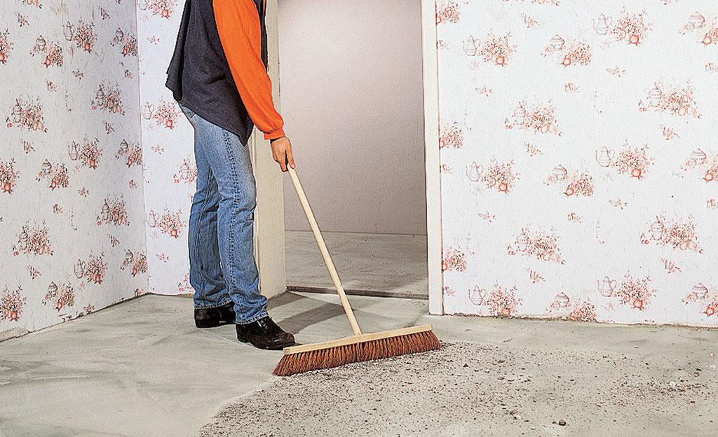 bodenbelag untergrundvorbereitung b den ausgleichen. Black Bedroom Furniture Sets. Home Design Ideas