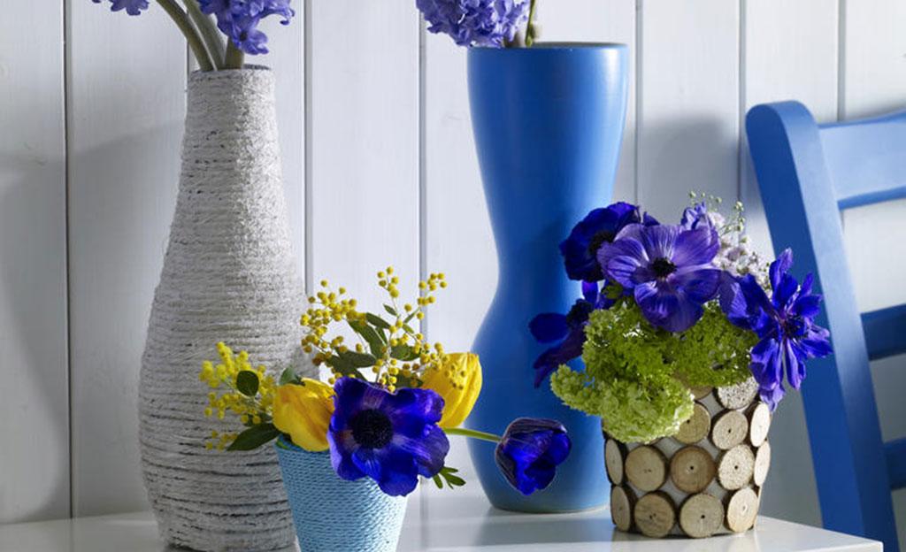 Blumenvase dekorieren | selbst.de